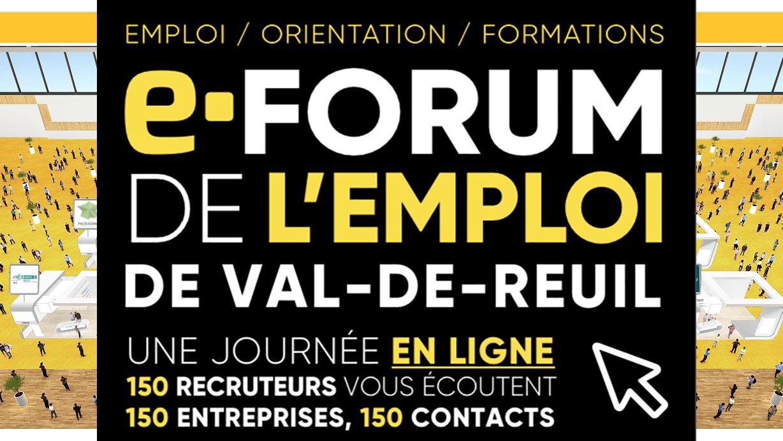 AFI-LNR - Actus - E-Forum de l'Emploi - Val-de-Reuil